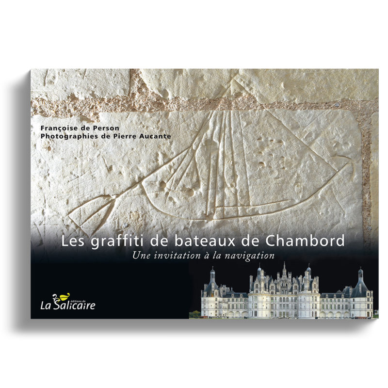 Chateau de Chambord Graffiti de bateaux